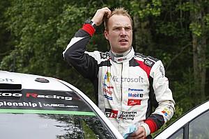 WRC Actualités Latvala terrassé par la mécanique!