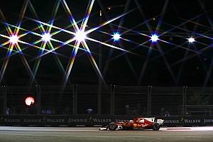 فورمولا 1  الأكثر تشويقاً بالصور: ترتيب شبكة انطلاق سباق جائزة سنغافورة الكبرى