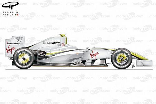 Innovations bannies : le double diffuseur de Brawn GP