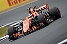 """Vandoorne net buiten punten in Silverstone: """"Zaten dicht achter Williams en Force India"""""""