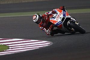 MotoGP Breaking news Lorenzo says hard tyre gains needed for Qatar victory bid