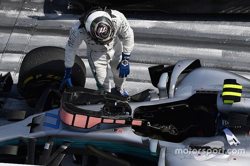 """Bottas: """"Még mindig a Mercedes a legjobb időmérős motor"""""""