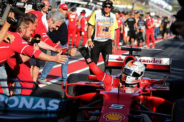 Stop/Go Livefeed Vettel és a győztes pacsi a főnöktől