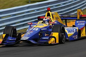 IndyCar Отчет о квалификации Росси завоевал первый поул в карьере в IndyCar