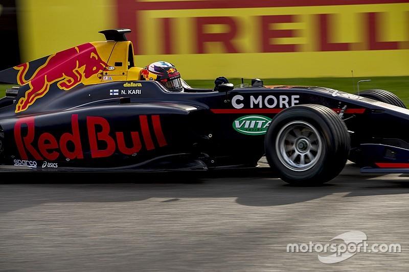 Kari é dispensado do programa de jovens pilotos da Red Bull