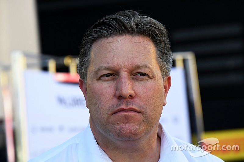 """Brown: los equipos deben estar abiertos a """"sacrificios"""" por la F1"""
