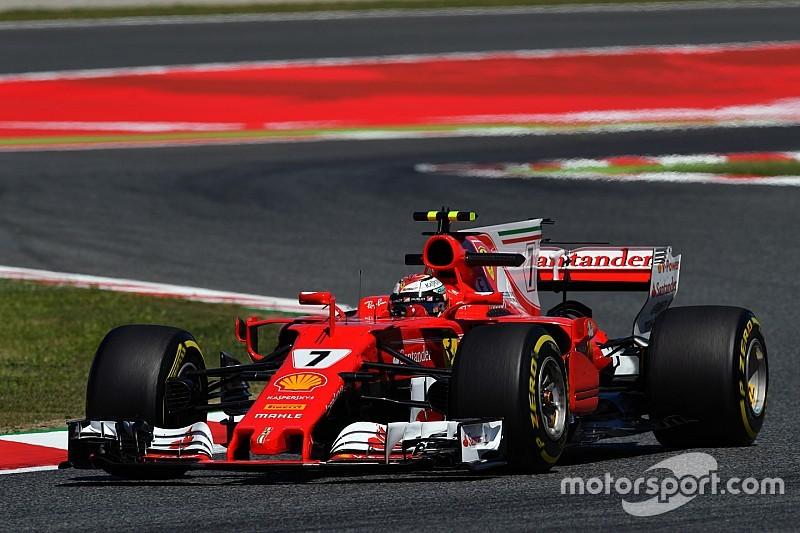西班牙大奖赛FP3:莱科宁带领法拉利重回榜首,维特尔引擎罢工