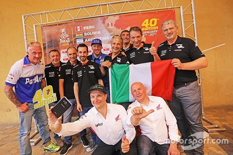 Il Dakar Tour a Milano per la presentazione italiana del percorso 2018
