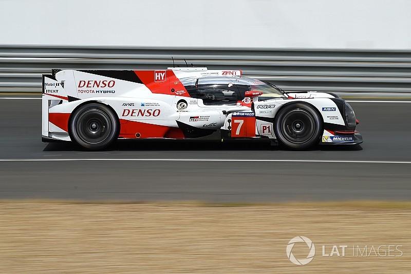 24h Le Mans 2017: Toyota macht beim Vortest klar das Tempo