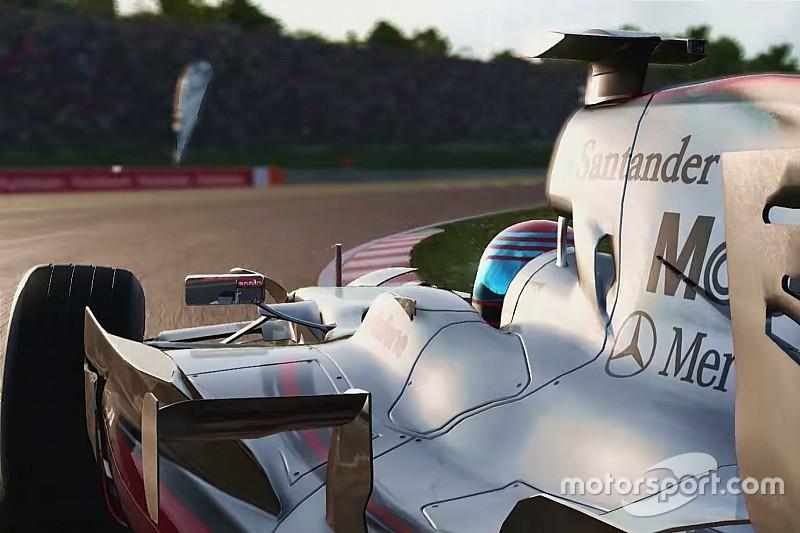 Vidéo - Lando Norris teste des McLaren de légende dans F1 2017