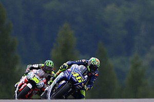 MotoGP Breaking news Rossi admits flag-to-flag races