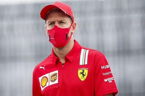 Vettel elmondta, miért ült a Racing Point csapatfőnökének Ferrarijába