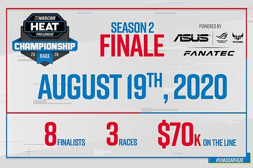 Партнерами финала киберчемпионата eNASCAR Heat Pro League стали Asus и Fanatec