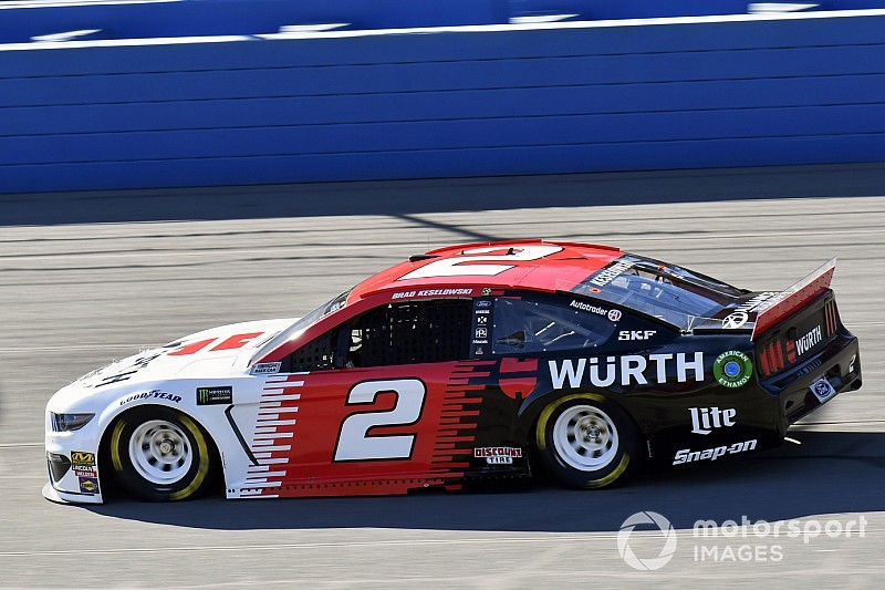 Brad Keselowski leads wave of Fords in final Cup practice
