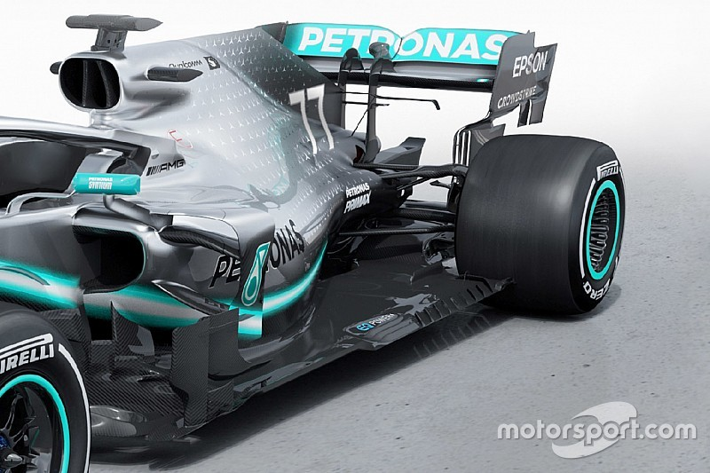 Karşılaştırma: 2018 Mercedes W09 ve 2019 W10