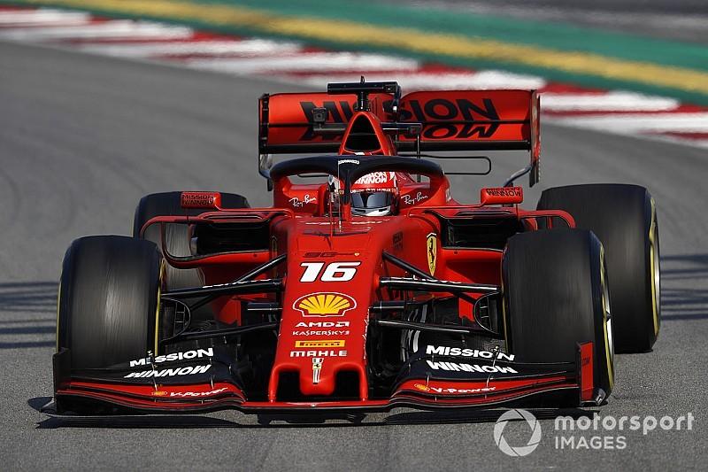 Tijden duikelen omlaag tijdens voorlaatste testdag Barcelona, Leclerc voorlopig bovenaan