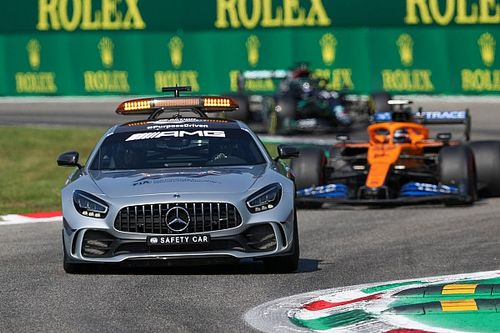 """""""فيا"""" وسائقو الفورمولا واحد يناقشون إعادة الانطلاقة خلف سيارة الأمان"""
