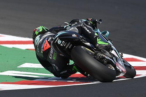 Морбиделли в Мизано одержал дебютную победу в MotoGP