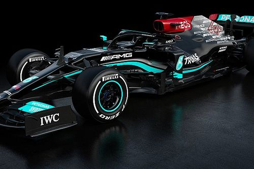 Mercedes reveals W12 car for 2021 ahead of F1 title defence