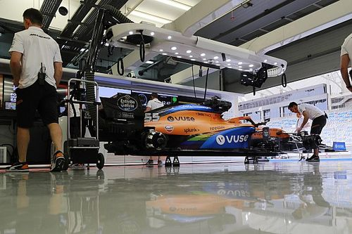 McLaren fires up new Mercedes engine for 2021 F1 car