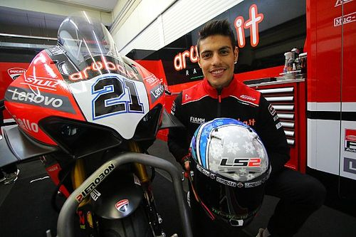 Rinaldi Terima Mobil Baru dari Ducati