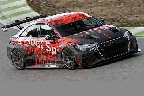 WTCR: Audi al lavoro con la nuova RS 3 a Castellolí