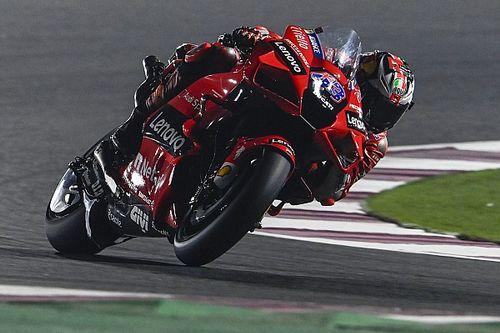 Doha MotoGP: Jack Miller leads Ducati 1-2-3 in FP2
