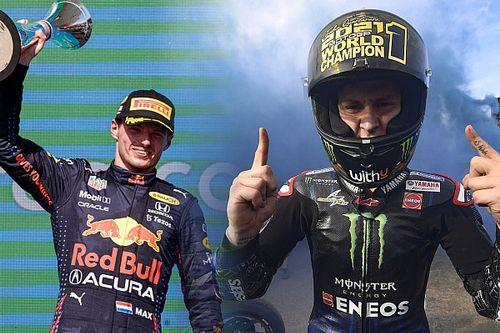 Report Live | Quartararo mondiale, Verstappen... quasi