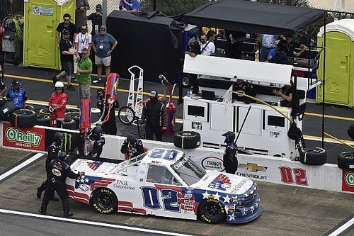 NASCAR crew chief suspended following incident at Talladega