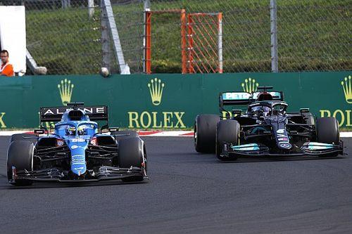 """Alonso: """"Duello con Lewis? Perché faceva tanti errori in curva"""""""