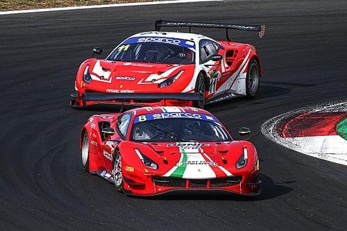 GT Endurance, Vallelunga: poker Ferrari nelle Libere 3