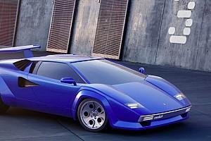 Render Lamborghini Countach, así sería este deportivo en el siglo XXI
