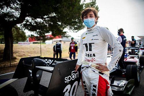 F3: Com pista molhada, Enzo Fittipaldi ganha 10 posições na prova em Paul Ricard e tem melhor resultado do ano