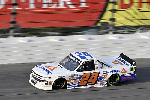 Funding issues cut short Lessard's NASCAR Truck season