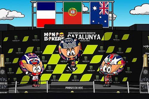 VIDEO: el GP de Catalunya 2021 de MotoGP por MiniBikers