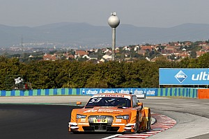 DTM Trainingsbericht DTM in Budapest: Alle 8 Audi in den Top 8 im 2. Training