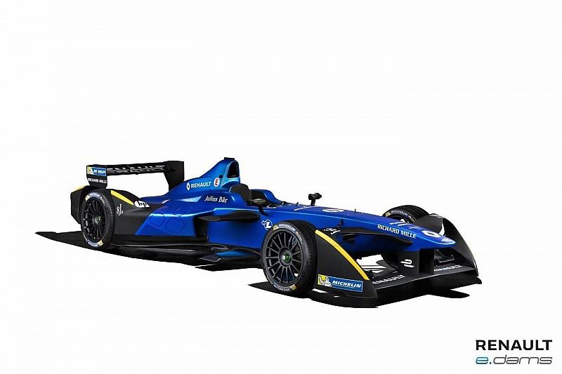 Renault e.dams presenteert livery voor Formule E-seizoen 3