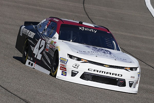 Reddick takes Xfinity pole at Homestead, Hemric leads title contenders