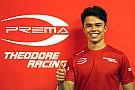 FIA F2 De Vries rejoint Gelael chez Prema