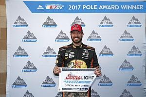 NASCAR Cup Reporte de calificación Truex se queda con la pole tras superar a Harvick