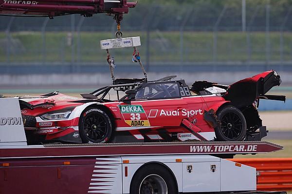 DTM Diaporama En images : l'impressionnant crash de René Rast en DTM