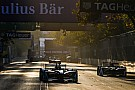 La parrilla de salida del Santiago ePrix
