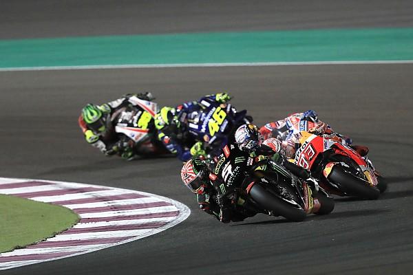 Проблемы с передней шиной помешали Зарко победить в Катаре