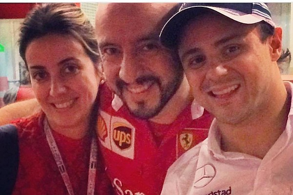 El mecánico herido, una celebridad en escudería Ferrari