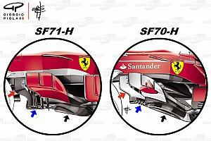 Formel 1 Analyse Formel-1-Technik: Wie Ferrari die Australien-Probleme kuriert hat