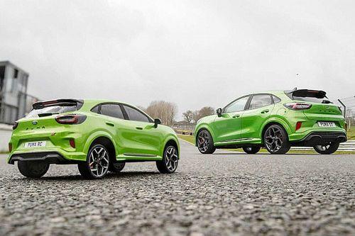 Vídeo, un duelo muy especial: Ford Puma ST vs versión radiocontrol
