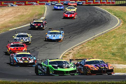 Ferrari Challenge North America takes on Sonoma