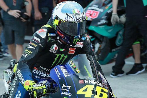 Photos - Les casques spéciaux de Valentino Rossi à Misano