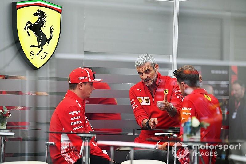 Ferrari no es un equipo caótico, según Arrivabene