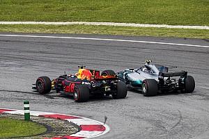 Ricciardo's overtakes in 2017